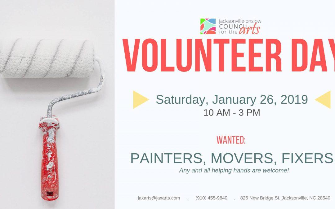 Volunteer Day!